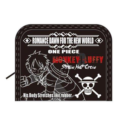 One Piece portafoglio Rufy RF Nero OP-2052 (japan import)