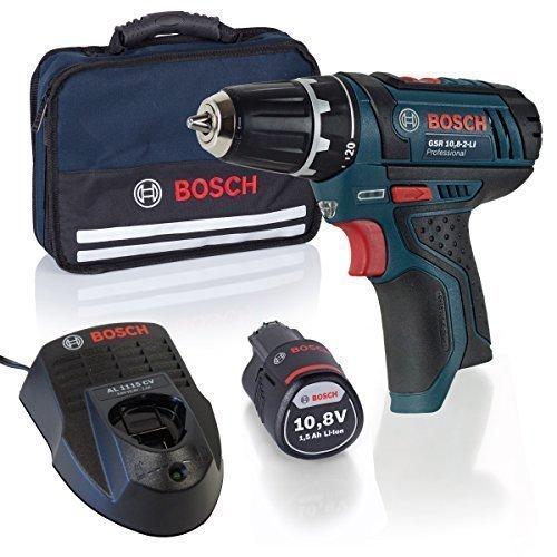 Bosch Professional Start-Set Akkubohrschrauber GSR 10,8 + Akku + Lader + Softbag