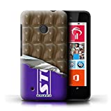 ICHOOSE Protective Case / Cover / Skin for Nokia Lumia 530 / Hard Slim Sleeve Phone Protector Bumper Shell Design / Chocolate Bars Collection / Wrapped Galaxy Wave