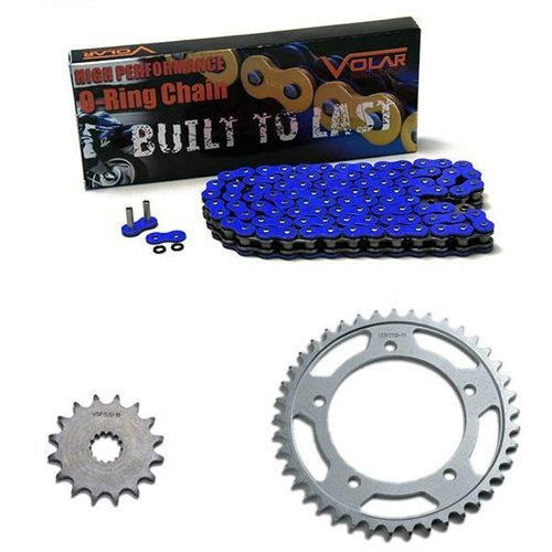 1994-1997 Suzuki RF900 O-Ring Chain and Sprocket Kit - Blue 1999 2000 honda cbr600f4 o ring chain red