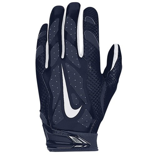 Nike Vapor Jet 3.0 Football Receiving Skill Glove (College Navy, XL)