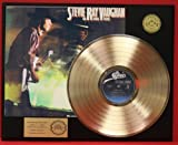 """Stevie Ray Vaughan """"Couldn'T Stand The Weather"""" Gold LP Record LTD Edition Display"""
