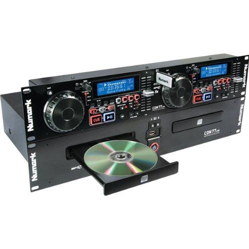 Numark CDN77USB Professional Dual USB and MP3