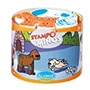 Aladine - 85101 - Loisir Créatif - Stampominos - Animaux Familiers