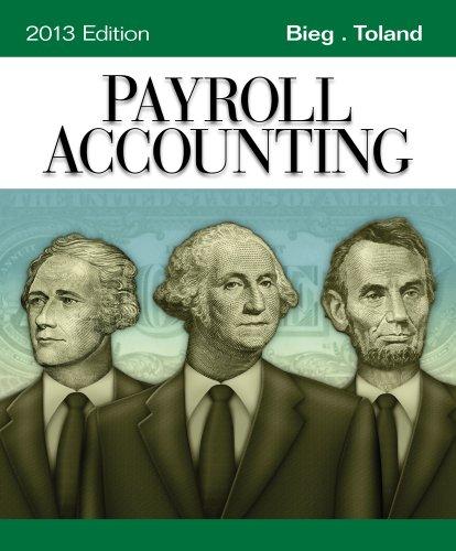 Payroll Accounting 2013 ( Computerized Payroll