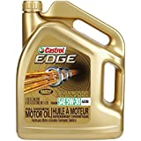 Castrol 03037 EDGE Gold 5W-30 Synthetic Motor Oil, 5 quart (API SL, ACEA A3/B4, BMW LL-01, MB-Approval 229.5, VW 502 00, VW 505 00)