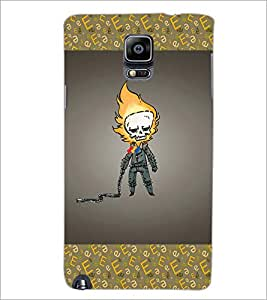 PrintDhaba Funny Image D-4627 Back Case Cover for SAMSUNG GALAXY NOTE 3 (Multi-Coloured)