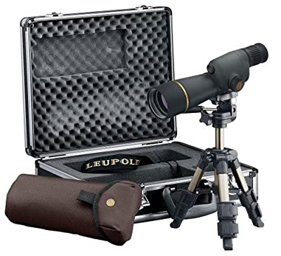 Leupold 120560 GR Compact Spotting Scope Kit, Shadow Gray, 15-30 x 50mm by Pro-Motion Distributing - Direct