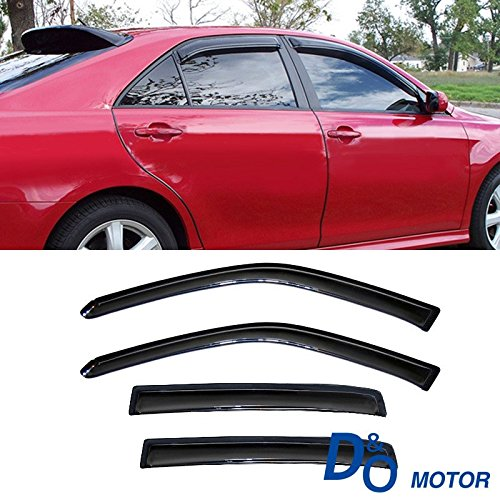 Mifeier Sun Rain Guard Wind Deflector Vent Shade Window Visor For 09-15 Chevy Cruze Smoke Tint (Chevy Cruze Air Vent compare prices)