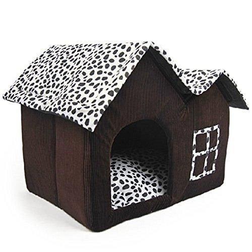 Bild von: NO:1 Luxus-High-ende Milchkuh Stil Haustier Katze Hund Häuser Zwinger Hundehütte Hundezwinger - braun
