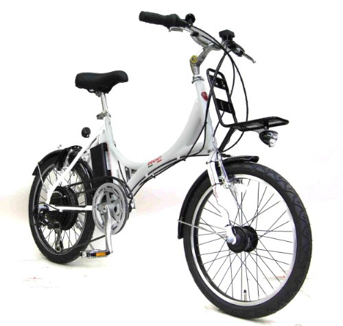 DUCATI(ドゥカティ) 電動 アシスト自転車 20 インチ ホワイト SDM-206E-WH
