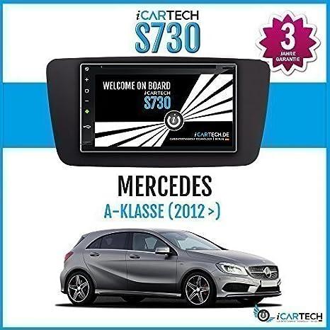 ICARTECH - Autoradio Lecteur DVD pour Mercedes Classe A W176 Android Puissant 4.1 Radio Avec Navigation GPS Bluetooth WiFi Ecran Tactil 3G 4G Préparation Pour TV (DVB-T) & Radio Numérique (DAB+), Dash-Cam(DVR), Extension des application