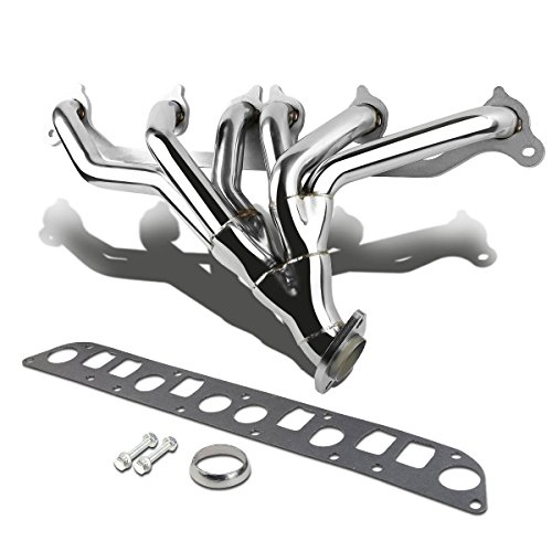 DNA Motoring HDSJC9140 Stainless Steel Exhaust Header Manifold (Xj Exhaust System compare prices)