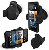 FoneM8 - New 2013 HTC ONE Windscreen Or Dashmount Phone Holder, Works In Portrait Or Landscape - Also Works With The Phone In Its Case