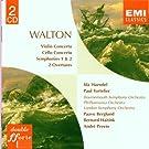 Walton: Symphonies Nos 1 & 2/Cello Concerto/Violin Concerto/Overtures