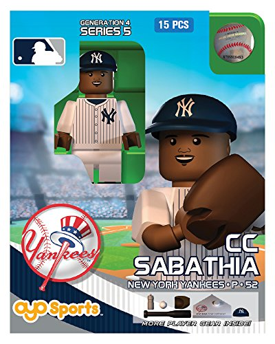 CC Sabathia OYO MLB New York Yankees G4 Series 5 Mini Figure Limited Edition