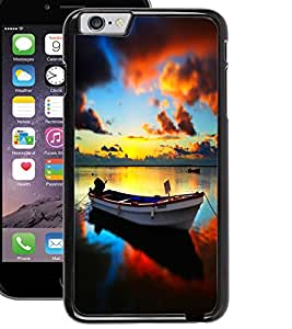 ColourCraft Beautiful Boat Design Back Case Cover for APPLE IPHONE 6