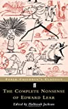 The Complete Nonsense of Edward Lear (Faber Childrens Clasics)