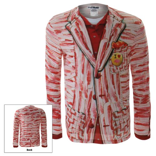 Old Glory Men's Faux - Bacon Suit Long Sleeve Costume