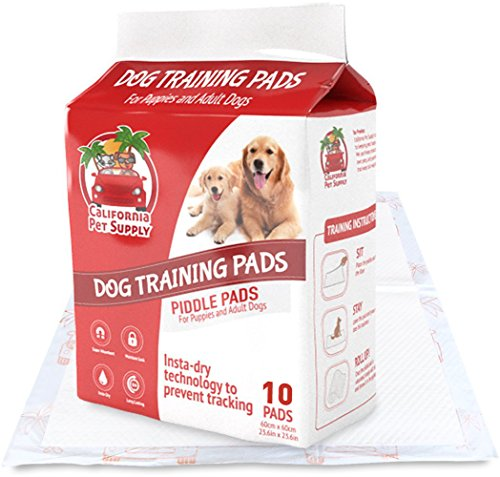 Dog Training Pads -Maximum-Absorption Puppy Pads w/Insta-Dry Technology offer Low Price, & No Tracking. Save Money & Frustration with Leak-Resistant Pads - 23.6
