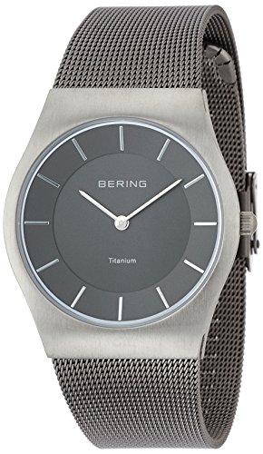 [ベーリング]BERING 【Amazon.co.jp 限定カラー】腕時計 Ultra Slim Titanium 11935-077  【正規輸入品】