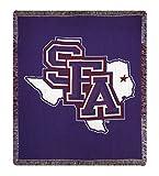 "50"" x 60"" NCAA Stephen F. Austin State University Afghan Throw Blanket"