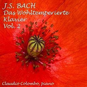 Das Wohltemperierte Klavier II : Prelude and Fugue No. 18 In G Sharp Minor, BWV 887
