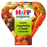 Hipp Organic Growing Up Meal Hearty Vegetable & Beef Casserole 12mth+ (260g)