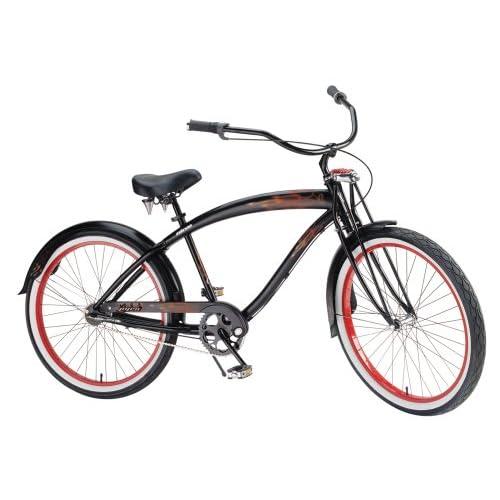 Amazon.com : Nirve Pyro Men's 3-Speed Cruiser Bike