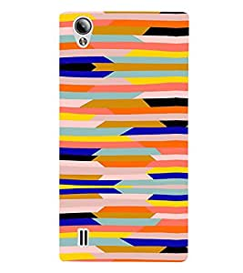Abstract Painting 3D Hard Polycarbonate Designer Back Case Cover for Vivo Y15S :: Vivo Y15