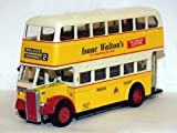 Collector's model bus Newcastle 1950s Daimler on route 2 to Walker