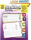 Daily Handwriting Practice, Modern Manuscript