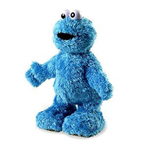 Fisher-Price TMX Laughing Cookie Monster - Tickle Me Extreme By Sesame Street