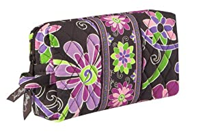 Vera Bradley Medium Cosmetic Bag Purple Punch