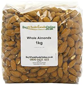 Buy Whole Foods Almonds Whole 1 Kg