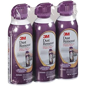 3M Dust Remover - Compressed Gas Duster - 10 oz - 3 Pack