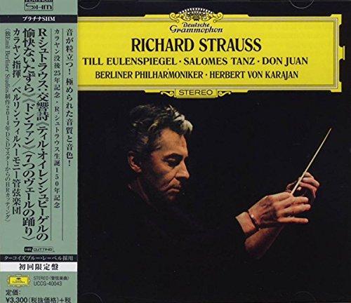 Berliner Philharmoniker / Herbert Von Karajan Till Eulenspiegel/Salomes Tanz/D-Platinum SHM CD Symphonic Music (Platinum Shm Cd compare prices)