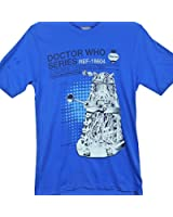 Official T Shirt DR WHO Manual CRITICAL DALEK Haynes