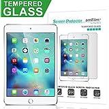 amFilm iPad Mini 4 Tempered Glass Screen Protector 0.33mm 2.5D Rounded Edge for Apple iPad Mini 4 2015 (1-Pack)