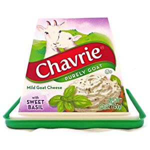 Chavrie with Sweet Basil