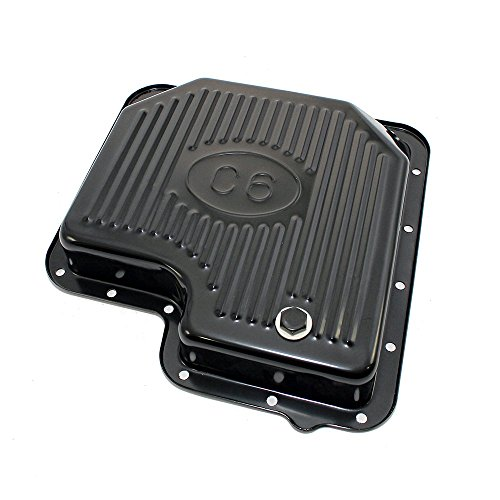 Assault Racing Products A9125PBK Ford C6 Black Steel Transmission Pan Stock Capacity (Ford C6 compare prices)