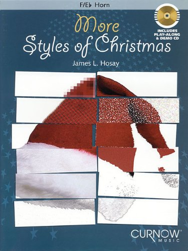 More Styles of Christmas F/E Flat Horn BK/CD Intrmed (Intermediate Level Instrumental Play-Along Packs)