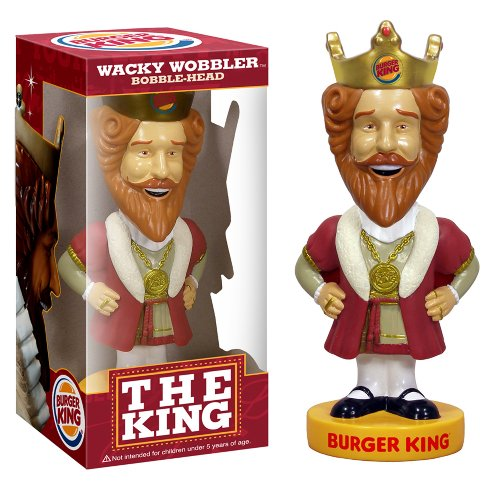 Buy Low Price Funko Burger King Wacky Wobbler Figure (B001U9ME4K)