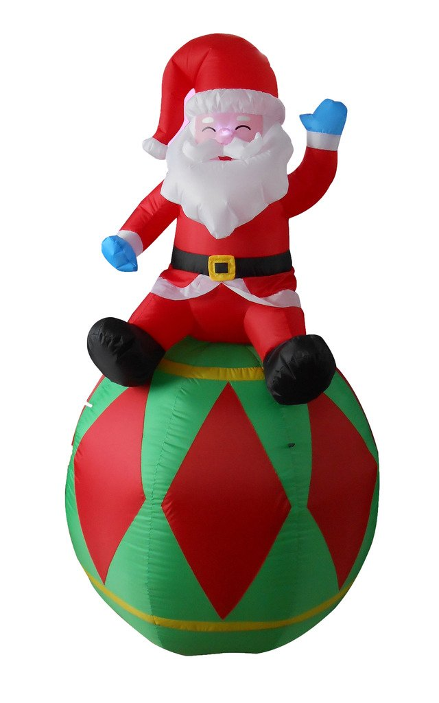 Santa claus outdoor inflatables page two christmas wikii