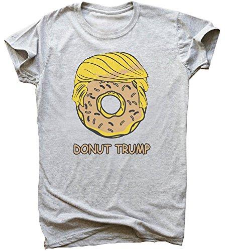 Portrait Of Donut Trump Men's T-Shirt Large