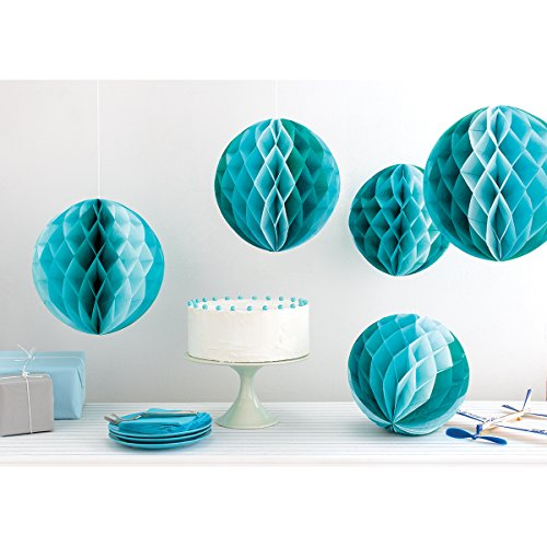 Martha Stewart Crafts 44-20208 Honeycomb Paper Decorations, Blue Ombre