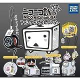 カプセル ニコニコ動画 ファングッズコレクション(キャラ文字スタンプ・ラバーストラップ)ニコモバVer.入り6種セットB