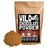 Organic Cacao Powder, Wild Dark Chocolate Powder, Handcrafted, Single-Origin, Fair Trade, Organic, Non-Alkalized Chocolate from Peruvian Heirloom Cacao beans (8 ounce)