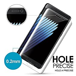 Samsung Note 7 3D (HD CLEAR) (ANTI BUBBLE) 360 Full Body Shatterproof Screen Cover Protecter By Happiness to home