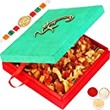 Rakhi Dryfruits-Om Green Real Dried Fruit Box-r5